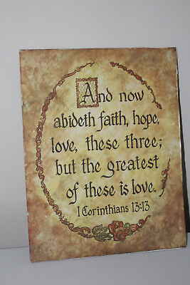 Home Interior Photo 1Corinthians 13:13 Faith, Hope, Love