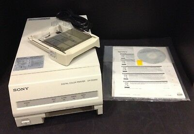 Sony Up-D23Md Digital Usb Color Printer Perfect Clean Prints & 60 Day Warranty