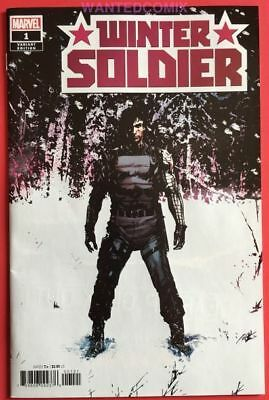 Winter Solider #1 1:50 Guice Variant Cover & Free Captain America Tpb #1-11 New
