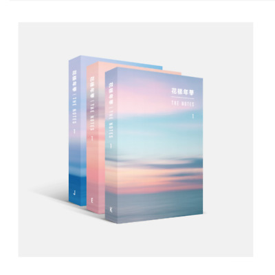 BIG HIT Ent. - BTS 花樣年華 THE NOTES BOOK Korean, English, Japanese Ver. + Benefits