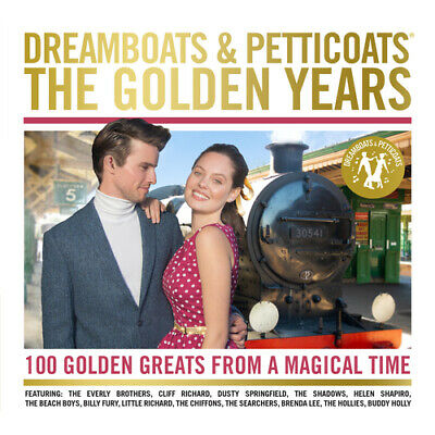 Various Artists : Dreamboats and Petticoats: The Golden Years CD (2018)