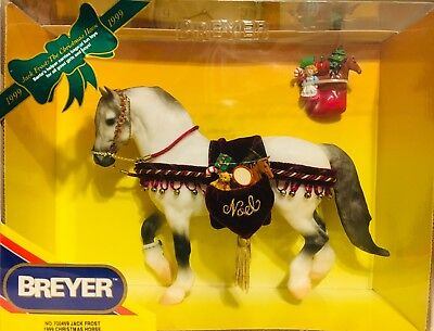 Breyer #700499 Jack Frost 1999 Holiday Christmas Horse In Excellent Condition