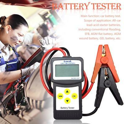 CCA100-2000 30-200Ah 12V Digital LCD MICRO-200 Auto Car Universal Battery Tester