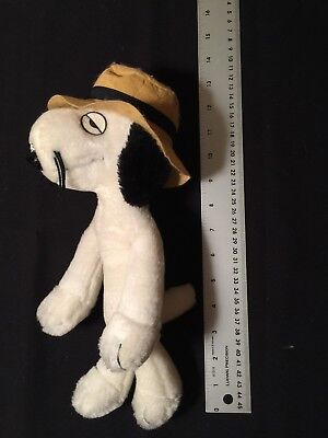 "Spike Snoopy's Brother United Features Syndicated 1968-1975 12"" Plush Toy W/ Hat"