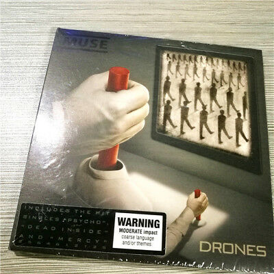 Muse ‎– Drones 9397601002900 EU CD SEALED NEW F1-2+