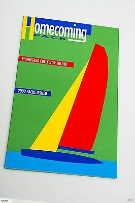 1995 NZ Home coming pack - 5 Phone cards celebrating the America's Cup Win
