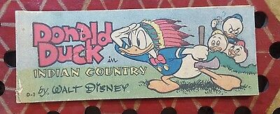 Donald Duck in Indian Country