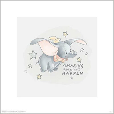 Dumbo Classic - Amazing Things POSTER PRINT 40x40cm BRAND NEW