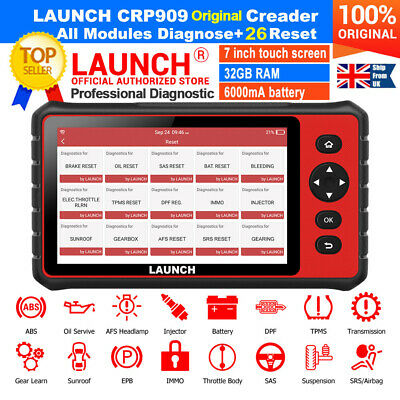 LAUNCH CR619 CAR Fault Code Reader OBD2 Auto Diagnostic