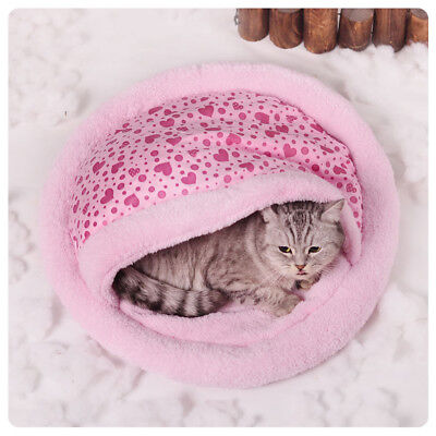 Lit Panier Couchage pour chat rose 55cm NEUF