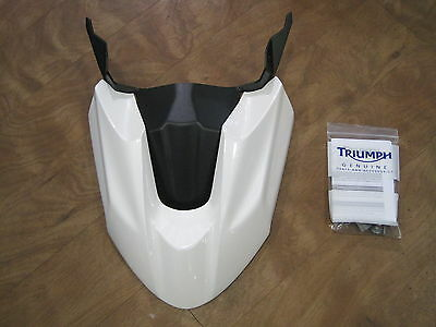 Triumph Tiger 800   High Level Front Mudguard White A9708212-Nw
