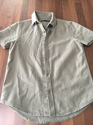 Boys Green Linen Shirt Age 8 Years From Next