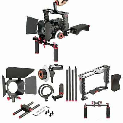 Film Movie Kit System Support Rig Video Cage other DSLR Cameras Red Version