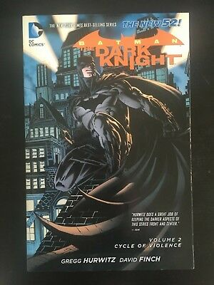 Batman - The Dark Knight Volume 2: Cycle of Violence (The New 52) by Gregg...
