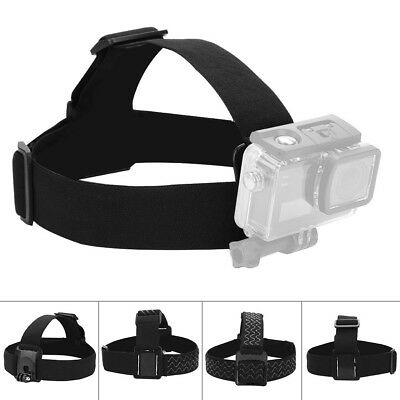 Adjustable Headband Belt Head Strap Mount For GoPro Hero 4 3+ 3 2 SJ4000 Camera