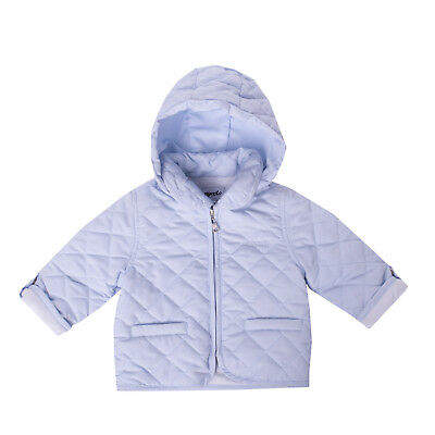 MIGNOLO Quilted Jacket Size 6-9M / 68-74 CM Detachable Hood Collared RRP €140
