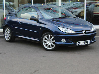 2007 07 Peugeot 206 Cc 1.6 Allure Coupe Cabriolet - Leather - Only 60548 Miles!