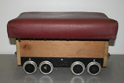 "5"" gauge passenger / driving truck for live steam locomotive or miniature rail"