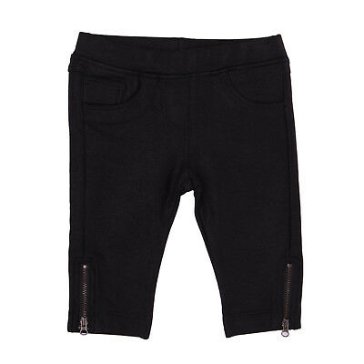 SO TWEE BY MISS GRANT Trousers Size 12M / 74-80 CM Black Treated Zipped Cuffs