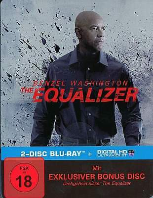 The Equalizer - Denzel Washington - Steelbook - 2 Discs - Blu-ray
