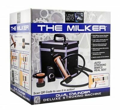 LoveBotz The Milker Automatic Deluxe Stroker Machine,  Sug. Retail $1064!