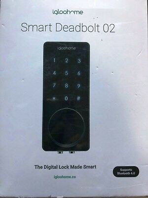 Igloohome - Smart Lock Deadbolt 02 - Keyless & Mobile Access To Homes