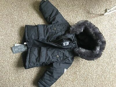 Baby Boy Coat 3-6m Brand New With Tags