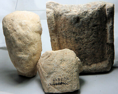 Limestone statue fragments, probably from Cyprus / Cypriot