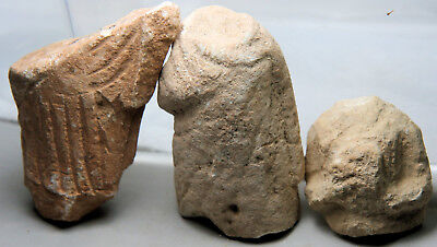 More limestone statue fragments, probably from Cyprus / Cypriot