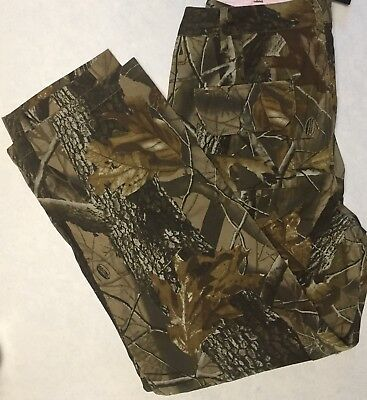 0fabd3806470c Womens Realtree NWT Camo Pants By Outfitters Ridge Lined Cargo Pockets Size  14