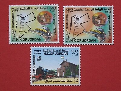 Jordan SG1897-9 Hijazi Railway Museum Train Steam Locomotive Railroad 1999 MNH