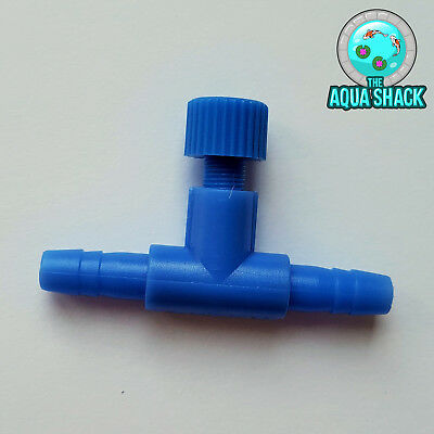 Air Line Regulator Control Valve Air Pump for Aquarium 6mm Pond Fish Accessories