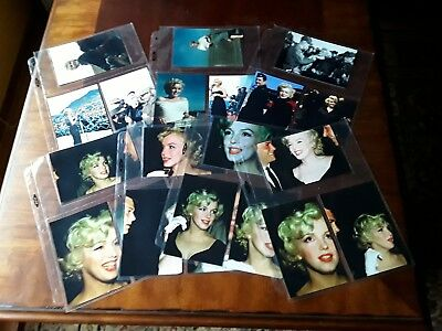 Vintage Marilyn Monroe Photo Lot of (21) 4x6 Candid Shots. Some Uncommon.