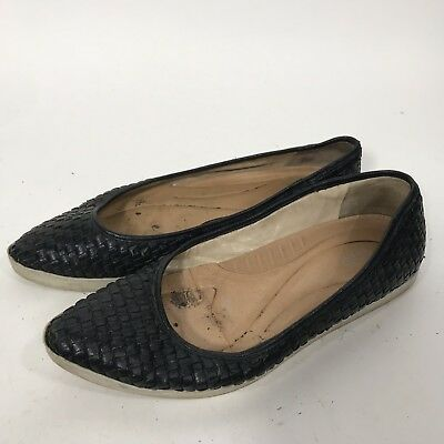 Dr. Scholls Original Collection Pointy Toe Flats Sneakers Black Shoes Sz 8.5 fee3b3afc56