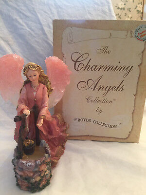 Boyds Charming Angels Collection Julianna.. Guardian Of Wishes  #28225