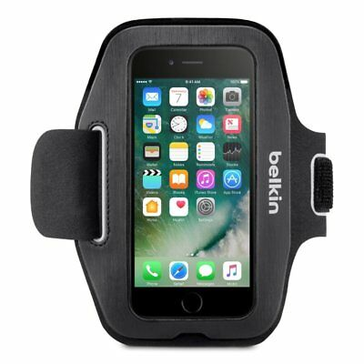 """Belkin Sport-Fit Plus. Fits Any 5"""" Smartphone. America's #1 Selling Armband!"""
