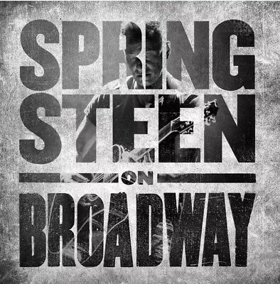 BRUCE SPRINGSTEEN SPRINGSTEEN ON BROADWAY 2 CD (Released December 14th 2018)