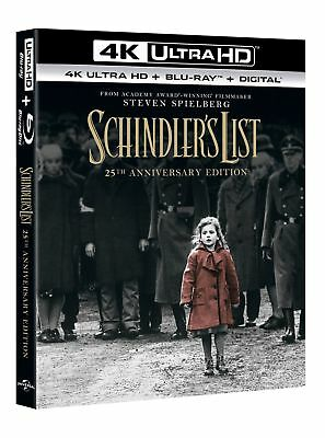 Schindler's List (4K Ultra HD + Blu-ray (25th Anniversary Edition)) [Blu-ray]