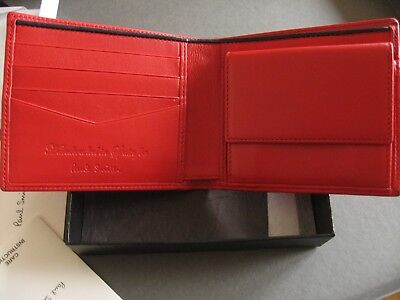 Paisley Studs Rrp:£225 Paul Smith Wallet Bnwt Dreamer Tough Billfold Wallet