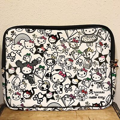 Authentic Tokidoki Hello Kitty 35Th Anniversary Laptop Bag Pouch Case New  Bag 9cc42325f1
