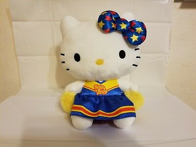 Hello Kitty 11'' Cheerleader Plush Toy, Blue (New, great for Valentines)
