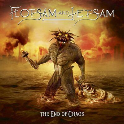 FLOTSAM AND JETSAM - The End Of Chaos - VINYL LP (AFM Records 2019)