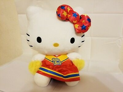 Hello Kitty 11'' Cheerleader Plush Toy, Red (New, great for Valentines)