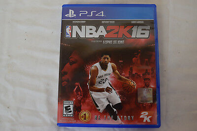 NBA 2K16 Anthony Davis Cover Sony Playstation 4