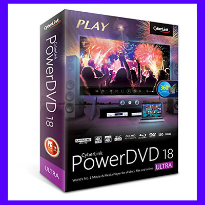 CyberLink Power-DVD Ultra 18 📥 LifeTime License 🔐 Fast Delivery ⏰📩