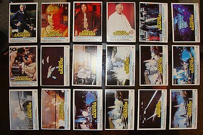 Battlestar Galactica 1978 Topps Complete Set 132 Cards Lot Hatch Greene trading