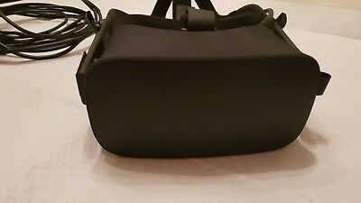 Oculus Rift cv1 Virtual Reality Headset - Black- small fault