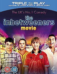 The Inbetweeners EXTENDED Movie (Blu-ray DVD & Digital Combo) BRAND NEW & SEALED