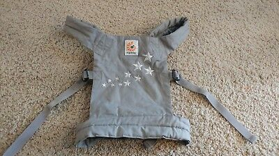 Ergo Baby Doll Carrier Galaxy Grey Stars Boy Girl Matches Mommy Pretend Play Toy