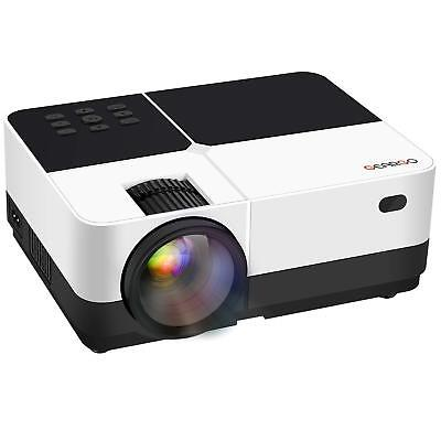 Video Projector, GEARGO Upgraded Version 2800 Lumens HD Projector with 1080P TV